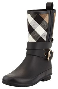 Burberry Limited Edition Monogram Black Boots