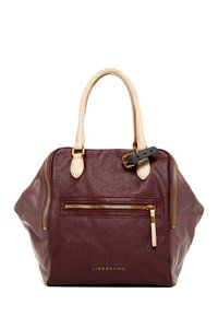 Liebeskind Rare Tote in Burgundy and Beige