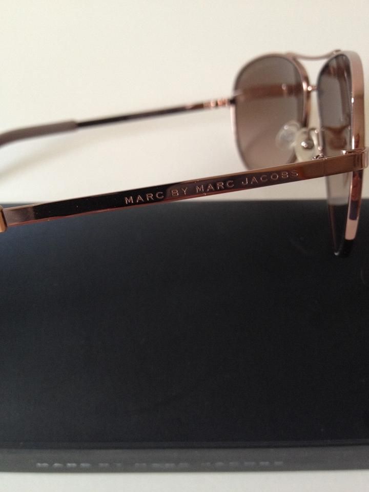 98728572e25 Marc by Marc Jacobs Red Gold Frames - Brown Gradient Lens Aviator Mmj 343 S  Sunglasses - Tradesy
