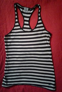 Victoria's Secret Stripe racer back Victoria secret tank