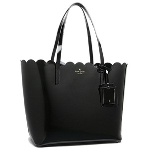 Kate Spade Lily Avenue Patent Leather Tote in BLACK