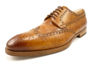 Magnanni Men's Shoes Leather Wingtip Lace Up Oxfords