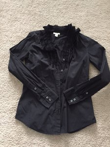 J.Crew Button Down Shirt Black