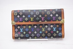 Louis Vuitton 100% Authentic Louis Vuitton Multicolor International Wallet