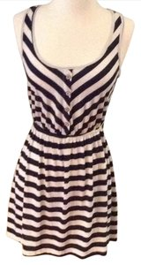 Only Mine short dress blue and white on Tradesy