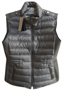 Burberry Brit Quilted Down Nova Check Cranstead Vest