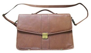 Amiel Tan Brown Messenger Bag