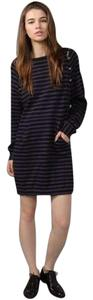 Marc Jacobs short dress blue and black on Tradesy