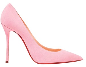 Christian Louboutin Louboutin Decoltish Pink Suede pastel pink Pumps