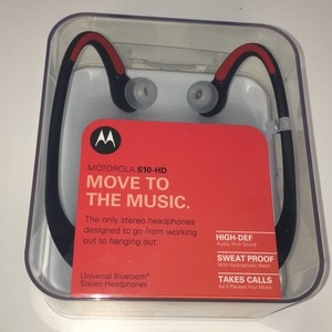 Motorola Motorola S10‑HD Bluetooth Wireless In‑Ear Headset