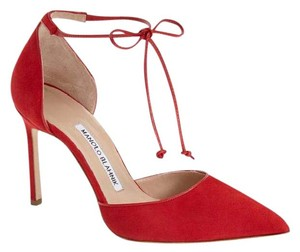 Manolo Blahnik Red Pumps