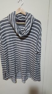 Maurices Longsleeve Striped Cowl Neck Sweater