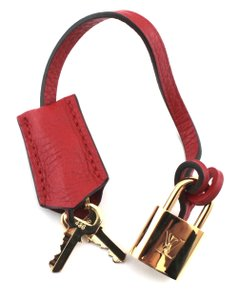 Louis Vuitton #10811 Clochette with Gold Brass Lock and key set #436