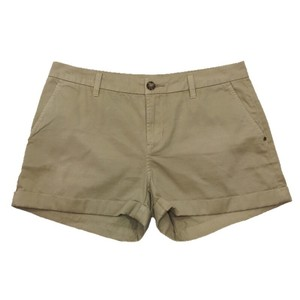 MICHAEL Michael Kors Chino Spring Summer Gold Hardware Shorts KHAKI