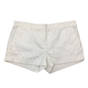 MICHAEL Michael Kors Spring Summer Cuffed Shorts WHITE