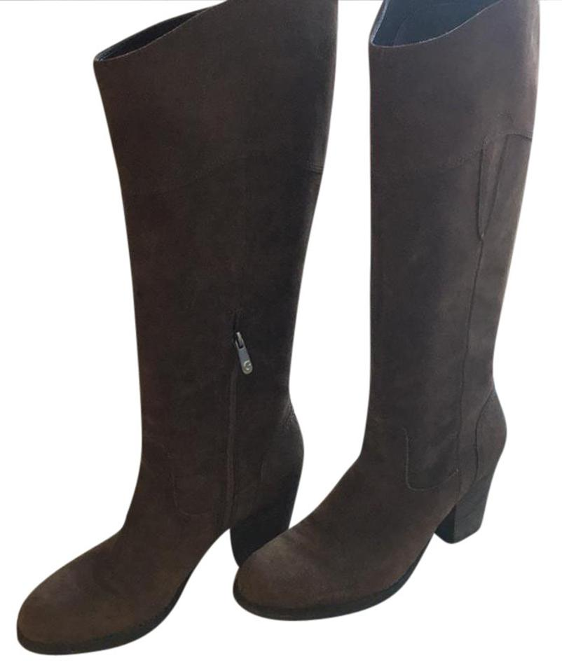 Guess Brown Riding Bootsbooties Size Us 11 Regular M B Tradesy
