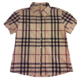 Burberry Brit Button Down Shirt check