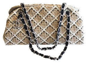 Chanel Woven Leather Shoulder Bag