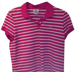 050866799da83d Pink Lacoste Tops - Up to 70% off a Tradesy