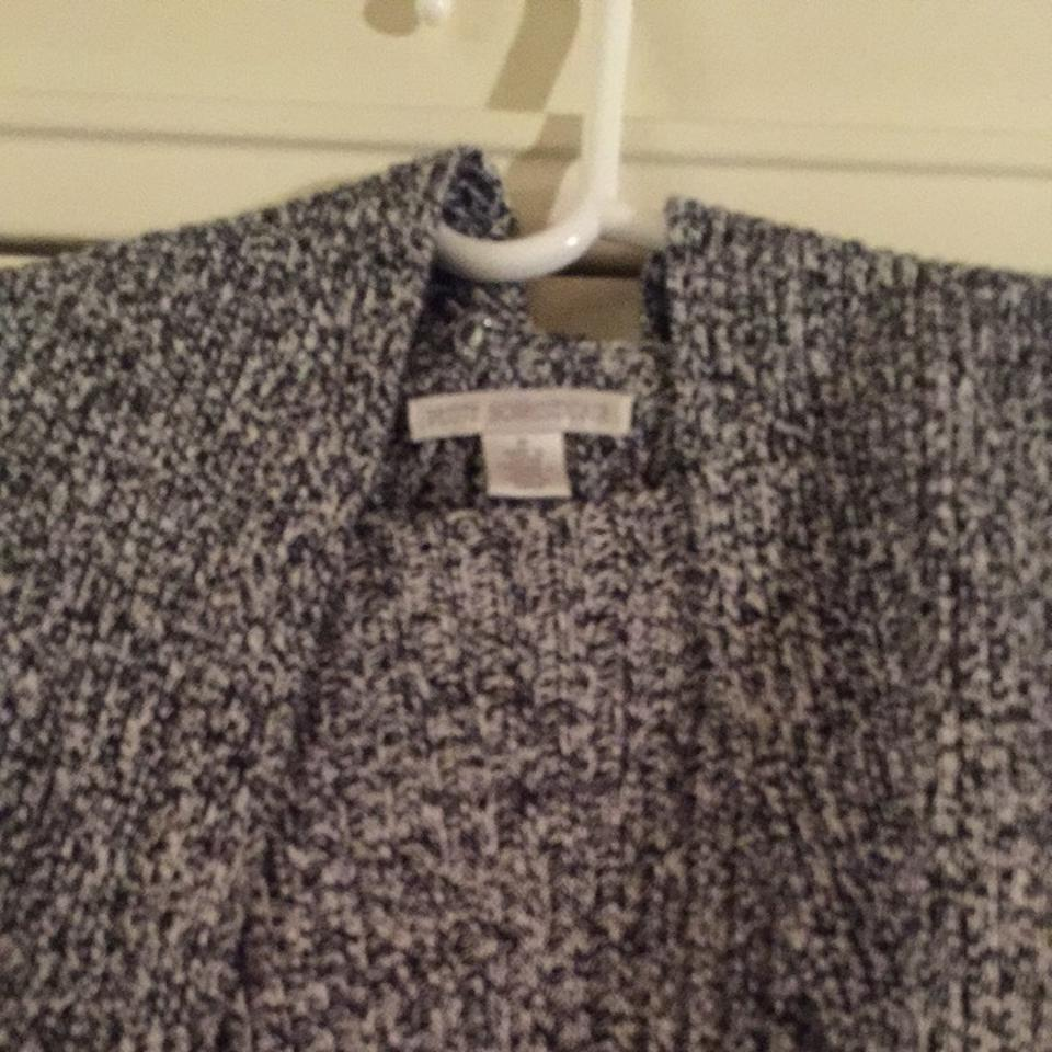 105c4db0fa Petite Sophisticate Black and White Sweater Pullover Size 8 (M ...