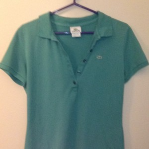 Lacoste T Shirt Teal