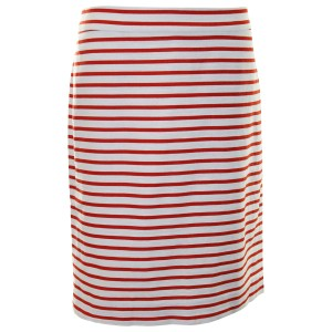 J.Crew Pencil Linen Skirt Deck Stripe