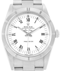 Rolex Rolex Oyster Perpetual Air King White Dial Oyster Bracelet Watch 14010