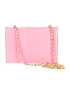 Escada Leather Gold Chain Cross Body Bag