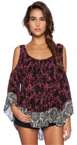 Free People New With Tags Top Cherry