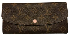 Louis Vuitton NEW Louis Vuitton Emilie Wallet Rose Ballerine