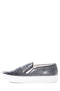 SENSO Charcoal And White Flats