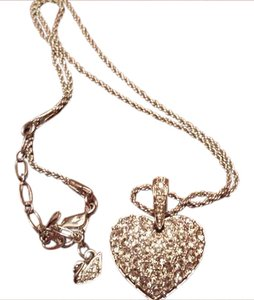 Swarovski 100% Authentic Puffed Heart Pendant