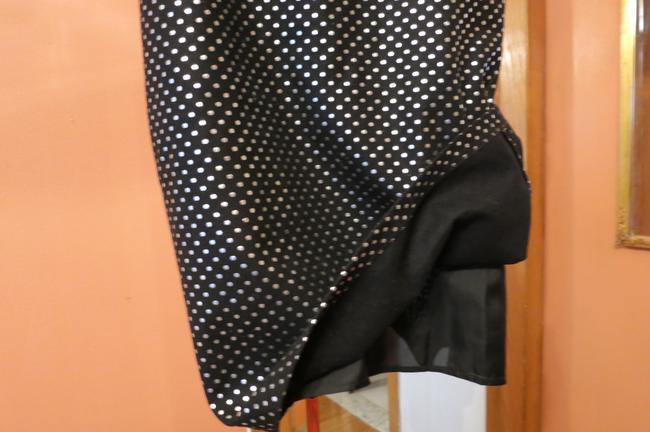 Byblos Skirt Black with Silver