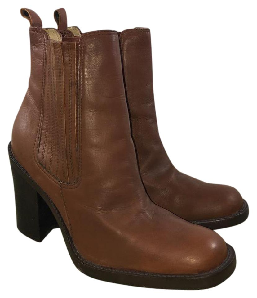 Me Too Brown Cheyenne Mid Boots/Booties Ankle Pull On Campus Boots/Booties Mid 25fa31