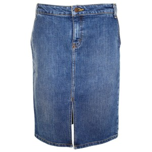J.Crew Pencil Denim Jeans Skirt Blue