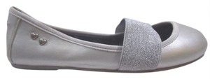 Rocket Dog Ballet Sparkle 7.5 Silver Flats