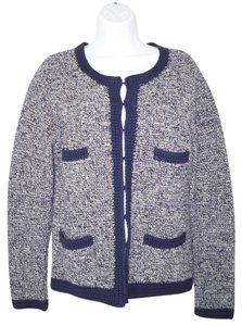 Boden Cotton Tweed Cardigan
