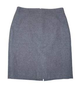 J.Crew Pencil Wool Mini Skirt