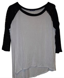 Modcloth Top white and black