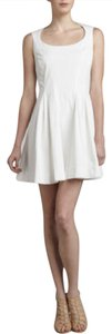 Zac Posen short dress White on Tradesy