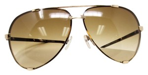 Marc Jacobs Marc Jacobs Signature Havana Eyeglasses With Gold Hardware Aviator