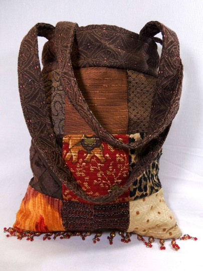 Other Carpet Tapestry Boho Indie Handmade Tote in Multi