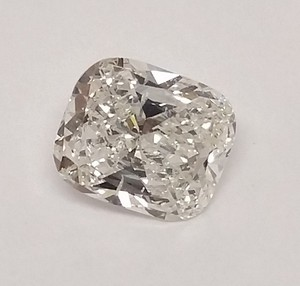 3.01 Ct Cushion Cut Loose Diamond H Si1 - Looks Like 4 Ct! Egl Cert