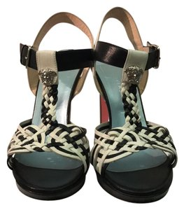 Versace black and white Sandals
