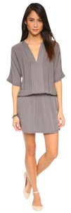 Joie short dress Grey on Tradesy