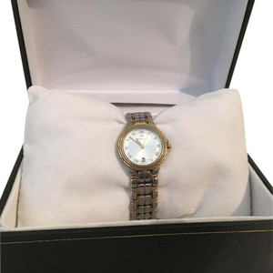 Maurice Lacroix MAURICE LACROIX 79514 Ladies Quartz Watch GOLD Plated/Sterling Silver