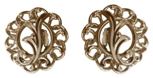 Sarah Coventry Silver plated clip earrings