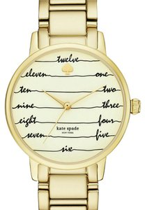 Kate Spade Kate Spade Gold-Tone Stainless Steel Watch