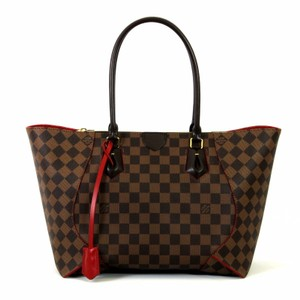 Louis Vuitton Caissa Mm Damier Ebene Handbag Tote in Brown