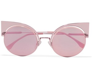 Fendi New Fendi Mirrored Cat Eye Sunglasses